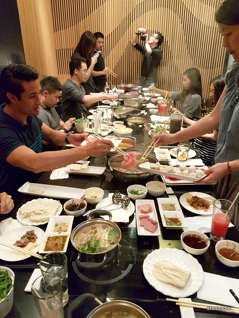 hot pot foodie feast