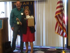 District Governor Renee Campbell Visit