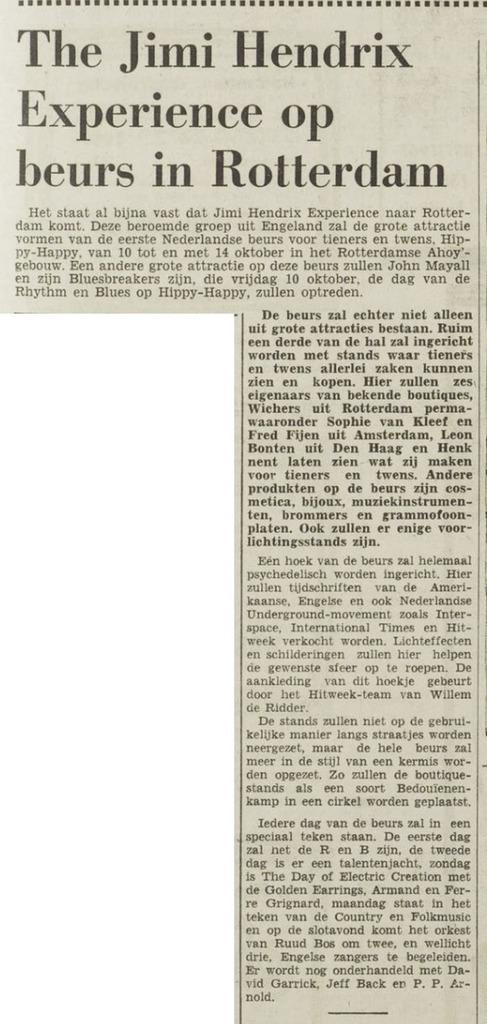 HET VRIJE VOLK (NETHERLANDS) SEPTEMBER 14, 1967