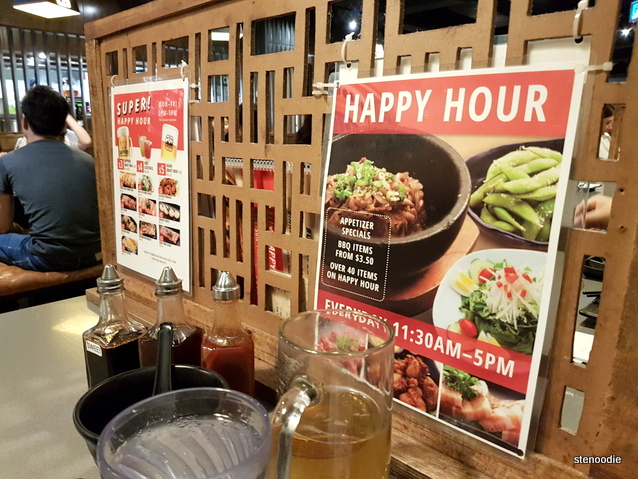 Happy Hour at Gyukaku