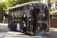 Wrightbus NRM NBFL - LTZ 1168 - LT168 - Mango - Hammersmith 10 - RATP Group - London 2017 - Steven Gray - IMG_9072