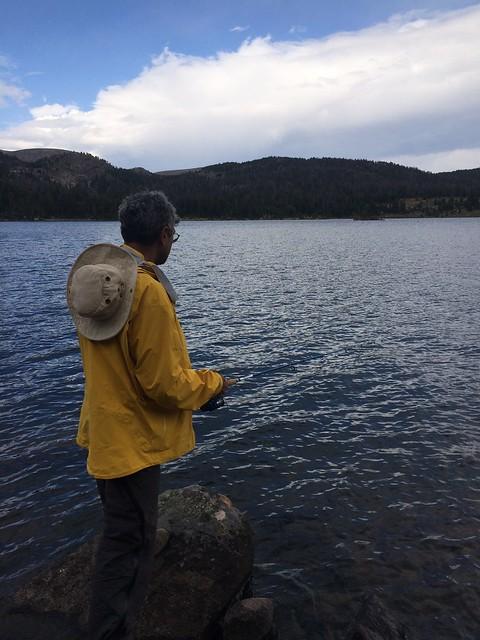 Beartooth hike fishing pierre