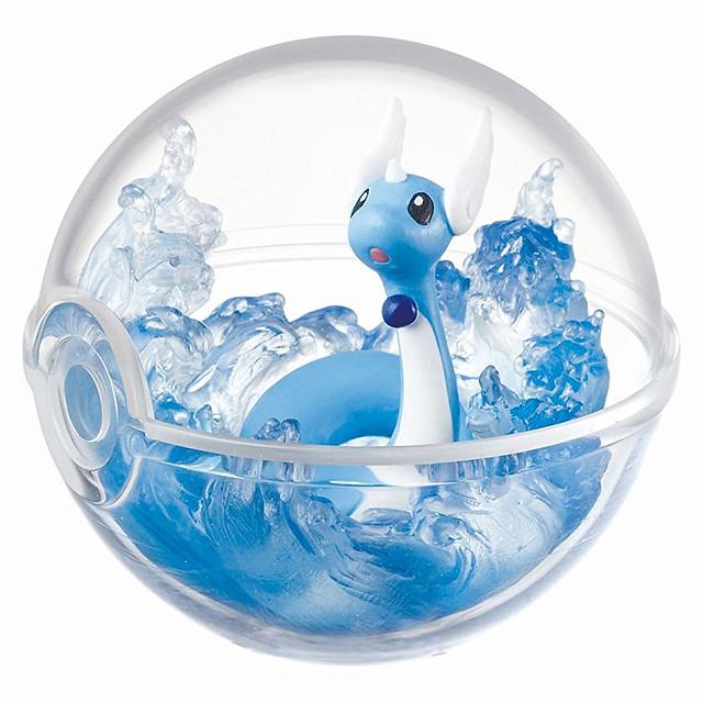 原來小小的精靈球裡這麼豪華啊!!RE-MENT《精靈寶可夢》寶可夢的玻璃精靈球收藏 ポケモンテラリウムコレクション