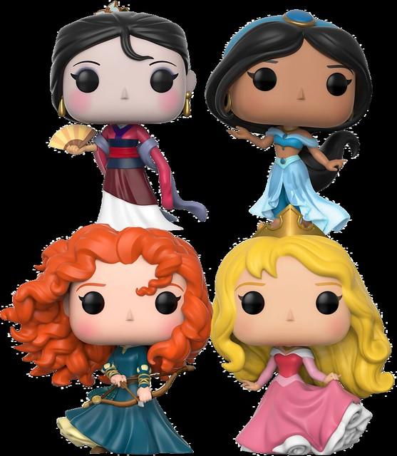 不管頭多大,公主們依舊可愛無法擋~~FUNKO POP!Disney 系列【迪士尼公主們】Disney Princess