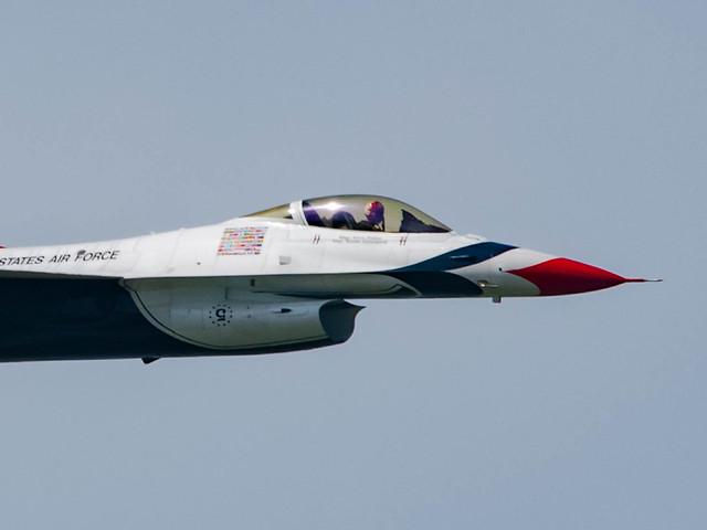 U.S. Air Force Thunderbirds #5 Flown by Major Alex Turner