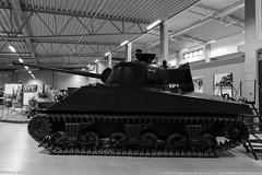 """Stridsvagn M4A4 Sherman """"Firefly"""" at Arsenalen Strängnäs (S)"""