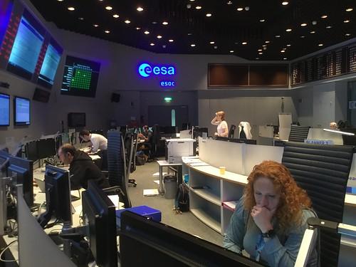 Sim training at ESOC 7 Sep 2017