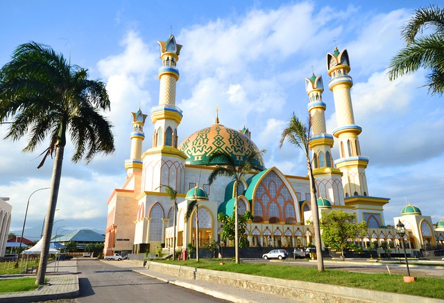 islamic center mosque mataram lombok