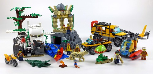 LEGO City Jungle 60161 Jungle Exploration Site 99a
