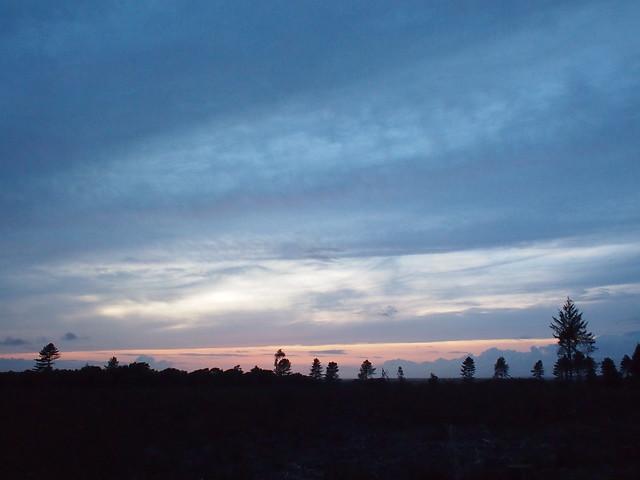 NCN2 Trip - Purbeck sunset