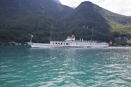 Paddle-steamer La Suisse