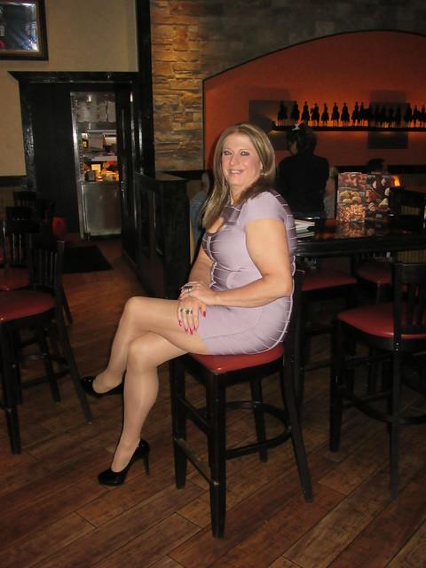 Tall Heels, Long Legs & my Keyhole Mini Dress