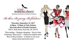 Tickets are now on sale for the 2017 Wine Women & Shoes on September 21st, at Mercedes-Benz of South Charlotte. Get your tickets at: http://ift.tt/2wrIah6