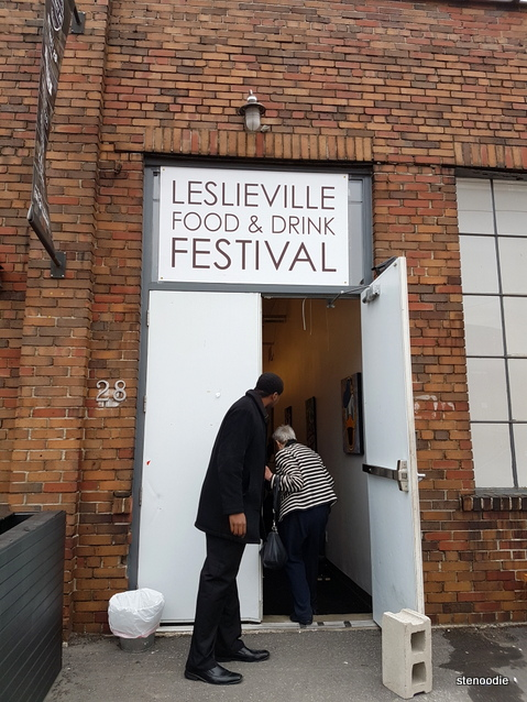 Leslieville Food & Drink Festival 2017 doorway