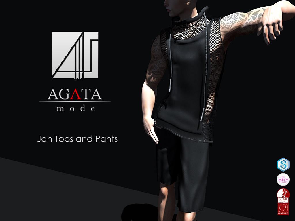 Agata mode - Jan Tops and pants - SecondLifeHub.com