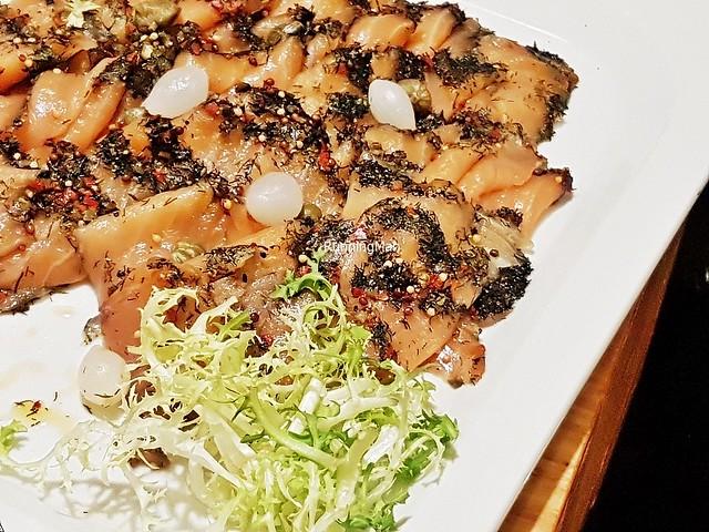 Herb Crust Smoked Salmon