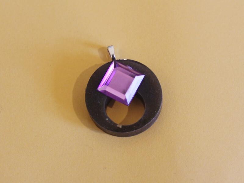 plastic pendant 2