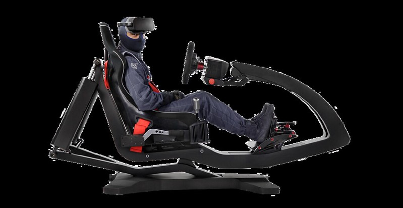 ImSim Motion Simulator Sideview