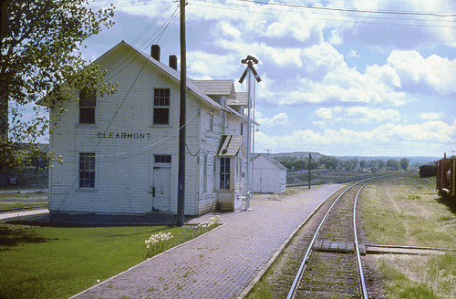CB&Q Depot at Clearmont, Wyoming