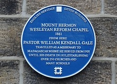 Photo of William Kendall Gale blue plaque