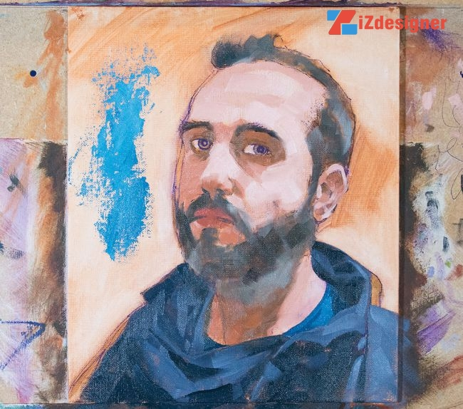 Hướng dẫn tự họa chân dung theo phong cách Van Gogh