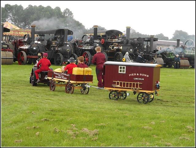 Miniature Steam Engine ..