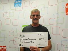 Howard Loveridge - $5,010 - Lucky For Life - Malad City - KJ's Super Store