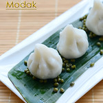 Green moong modak