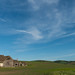 Big Sky over Farmhouse