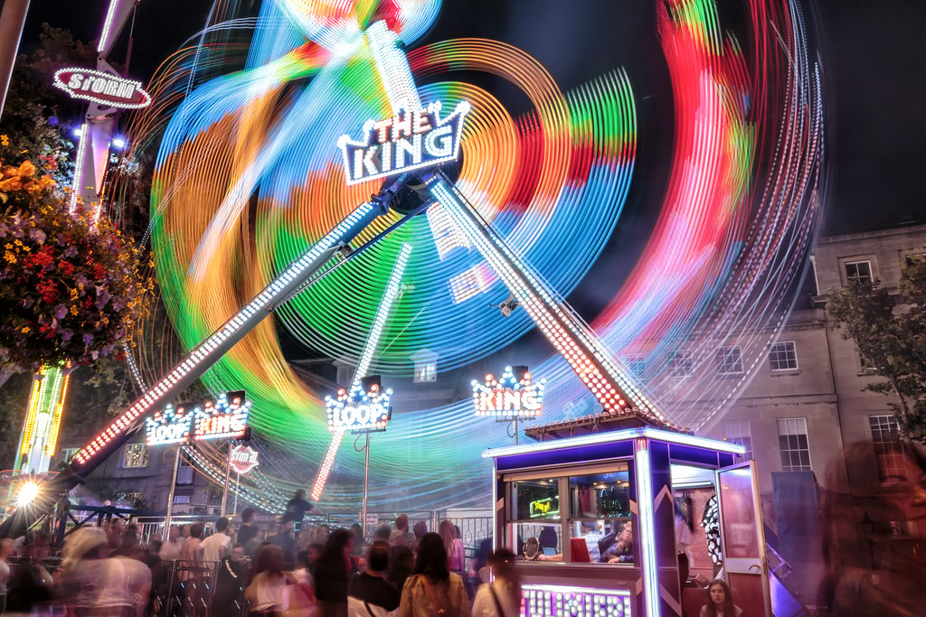 St Giles Fair Long Exposures 2017-1