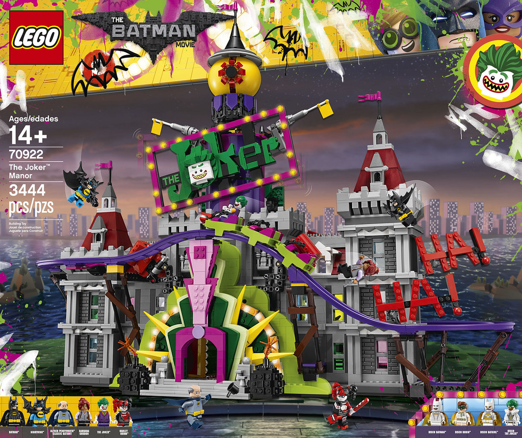LEGO The Batman Movie 70922 - The Joker Manor