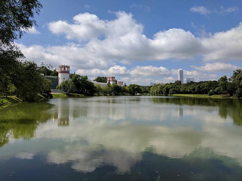 Novodevichy ponds park