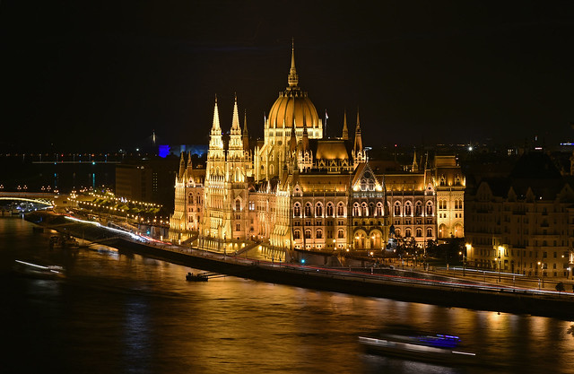 Hungarian Parliament Building (Országház), Budapest, Hungary