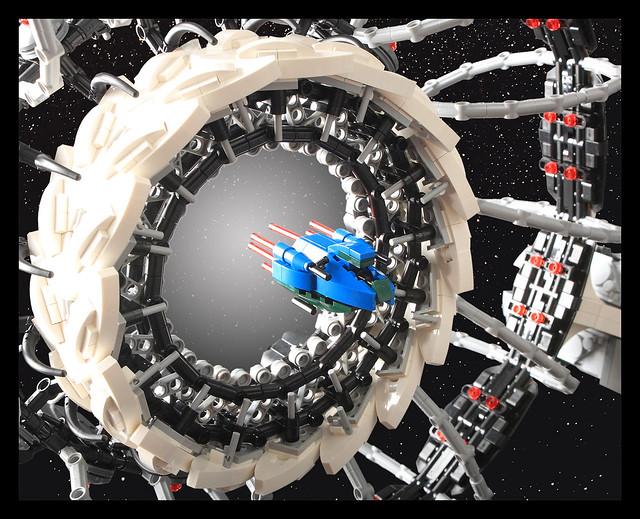 Portal Spaceship - Arriving Ship