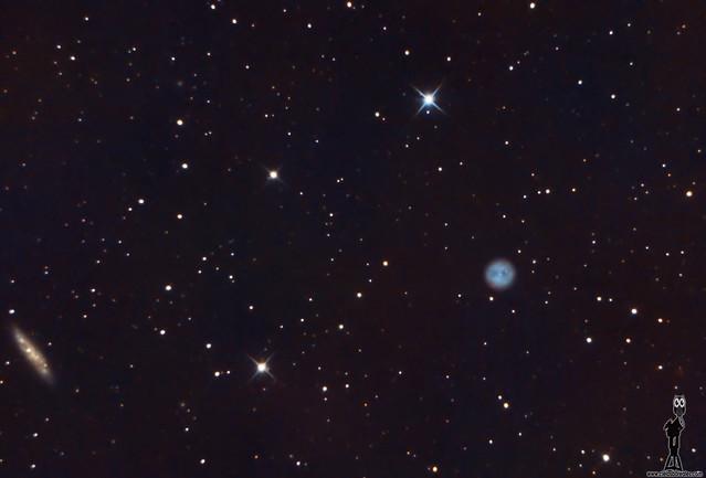 M97 Nebulosa del búho y M108
