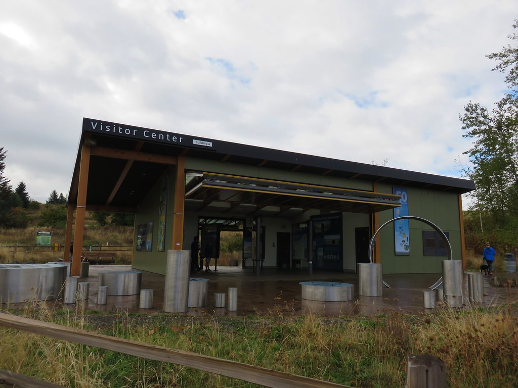 Visitors center at Powell Butte Nature Park