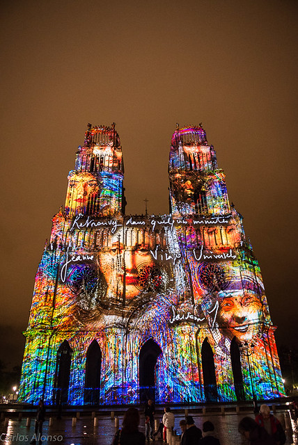 Iluminación Catedral de Orleans