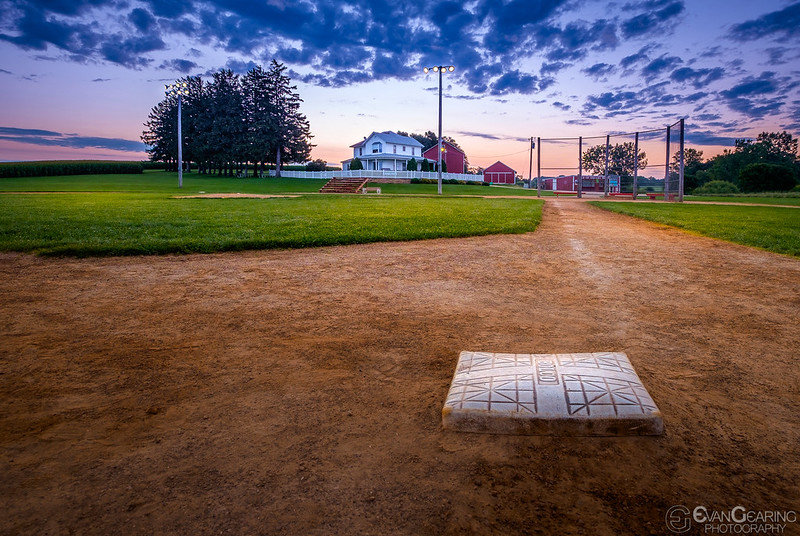 3d Base At Field of Dreams