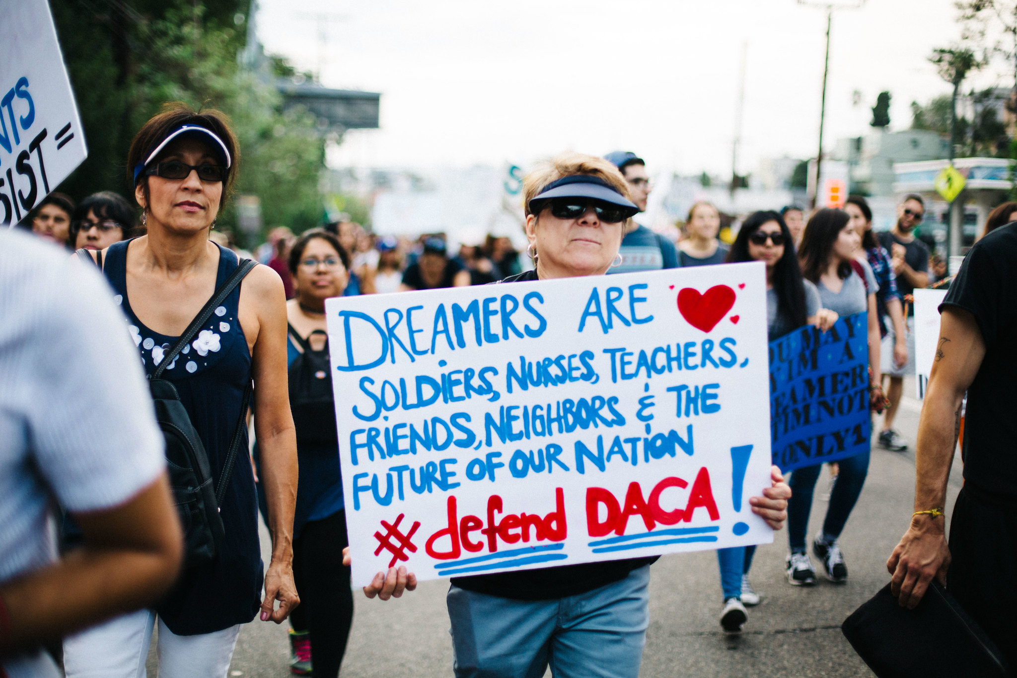 DACA Rally for Immigrant Rights