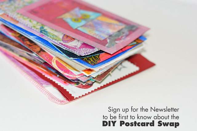 Happy Mail Art Pile / DIY Postcards I've gotten - Sign up now so you don't miss anything, at www.ihanna.nu/newsletter