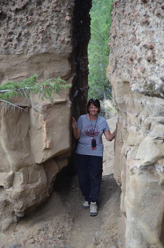 Yellowstone Tammie at Chimney rock