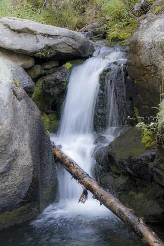 rockymountainnationalpark hike outdoors cowcreektrail waterfall water cowcreek