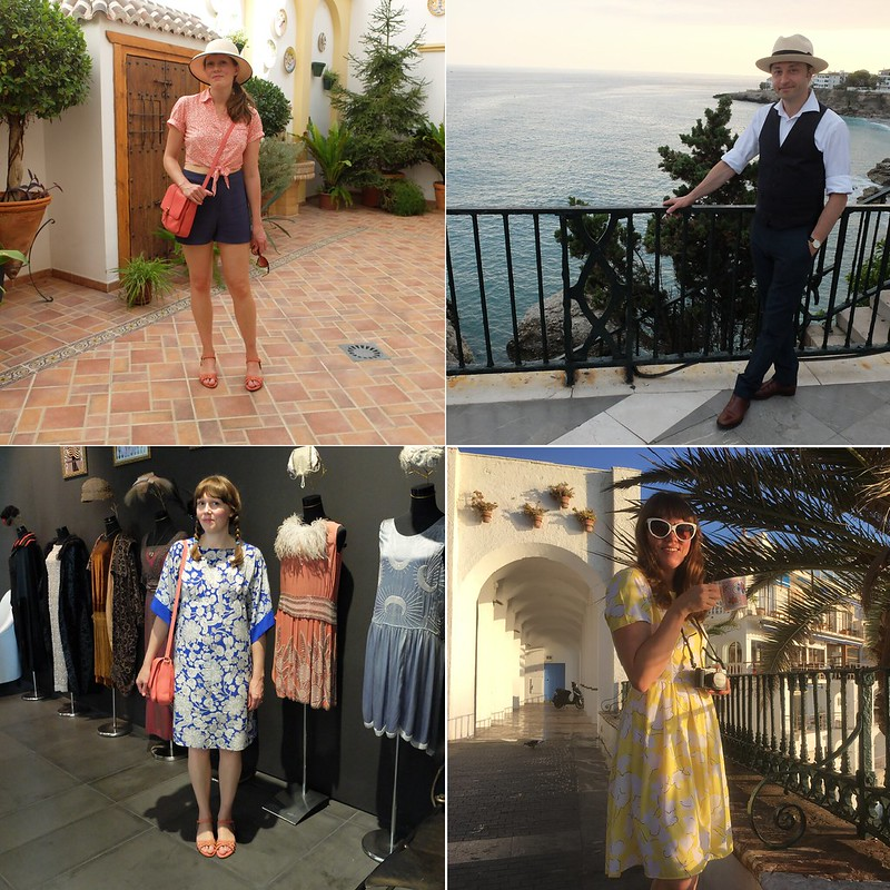 holiday wardrobe montage @porcelinasworld