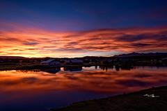 Pagosa Springs Colorado Epic Sunset