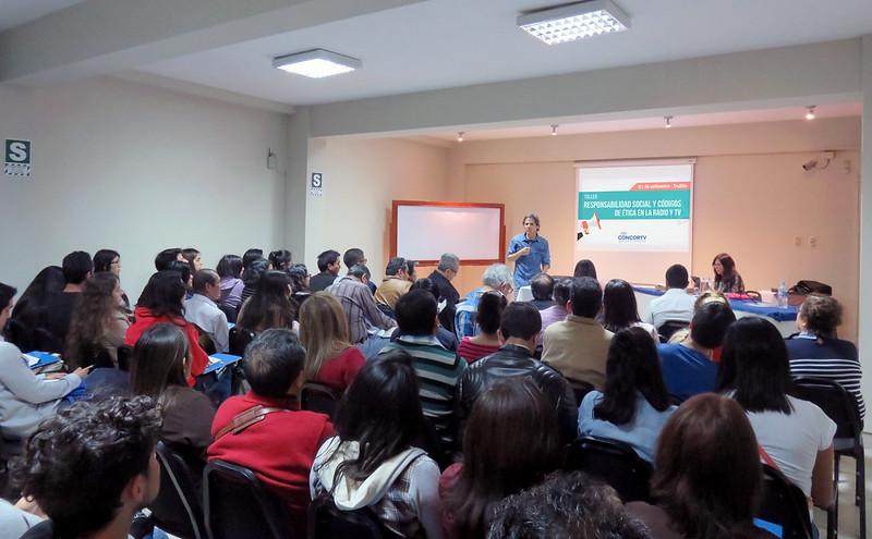 """09 - Trujillo I Taller """"Responsabilidad Social y Códigos de Ética en la Radio y TV"""""""