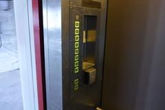 Elevator buttons in broken siemens elevator