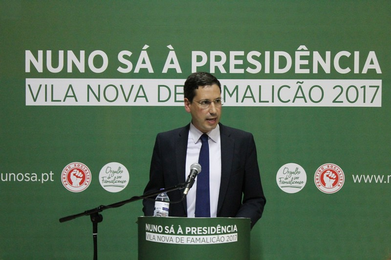 Nuno Sá _ Candidato Presidência CM VN Famalicão