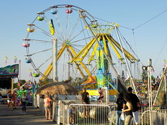 Cumberland County Fair Midway.