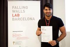 Nanotecnología y química computacional ganan la primera edición de Falling Walls Lab en Barcelona