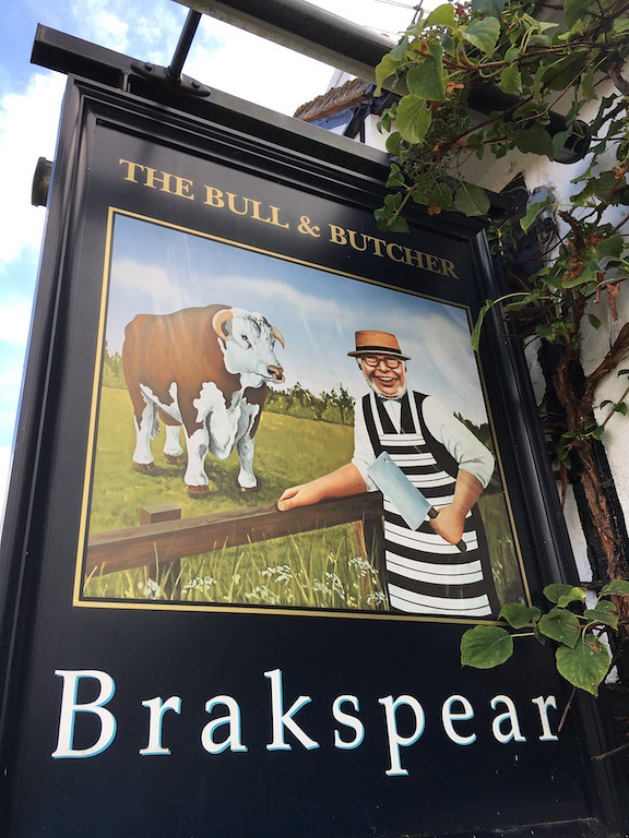 Bull and Butcher Henley via Turville Circular walk